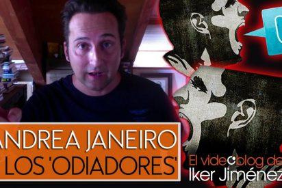 """El demoledor mensaje de Iker Jiménez a los miserables que insultan a Andrea Janeiro: """"¡Basura!"""""""