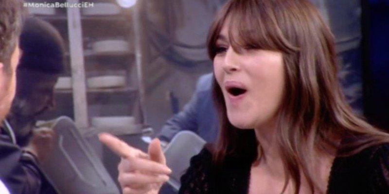 La bella Mónica Bellucci sacude un zasca a 'Patas' Pablo Motos