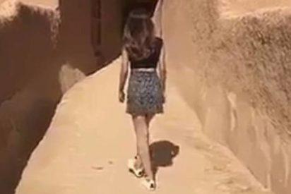 [VÍDEO] Detienen a esta mujer que se filmó paseando en minifalda en Arabia Saudí