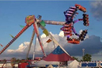 [VÍDEO] Terrible accidente en un parque de atracciones en Ohio deja un muerto y siete heridos