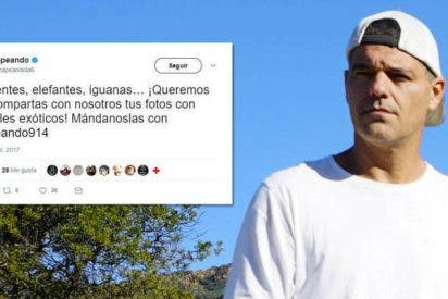 Frank Cuesta sacude en la cresta a 'Zapeando' por cagarla pidiendo fotos con 'animales esclavos'