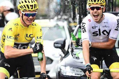 El británico Chris Froome gana el Tour de Francia sin ganar una sola etapa