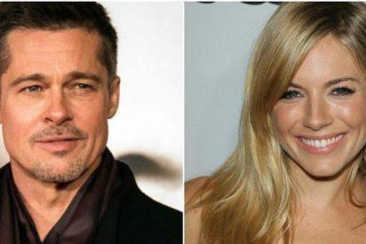 Brad Pitt y Sienna Miller esconden un tórrido y secreto romance