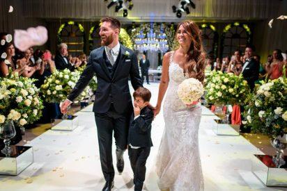 ¿Sabes qué hizo Messi con la comida y bebida que sobró en su lujosa boda?