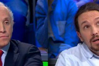 Twitter acribilla a Pablo Iglesias por jalear un vomitivo artículo del panfletario Público donde se pisotea a Eduardo Inda