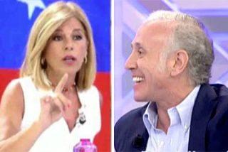 """El escrache a Iglesias y Montero termina en un bocado tremendo de Inda a Palomera: """"¡A mí no me da instrucciones ni Dios!"""""""