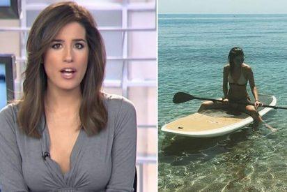 Las super vacaciones de Isabel Jiménez en Almería