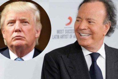 """Julio Iglesias desprecia a Donald Trump y cree que es un """"payaso"""" y un """"gilipollas"""""""