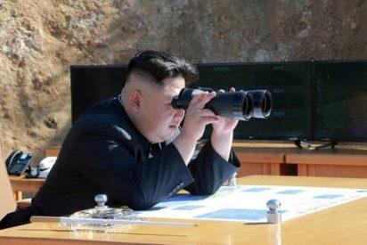 [VÍDEO] Mira cómo cayó el misil norcoreano en el Mar de Japón