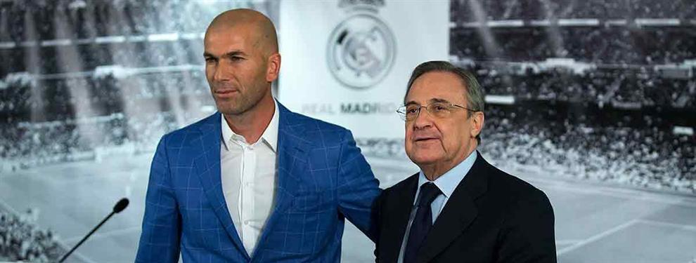 La 'emboscada' (por sorpresa) de Zidane y Florentino Pérez que amenaza seriamente a un intocable