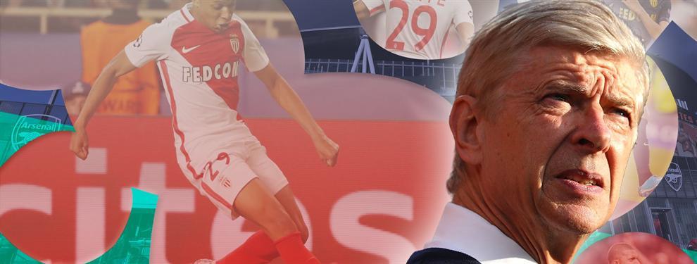 La táctica no contada (y el dineral) que está usando Wenger para quitarle a Mbappé al Real Madrid