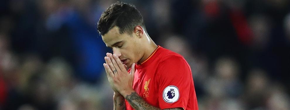 La última tomadura de pelo al Barça: el precio que pide el Liverpool por Coutinho