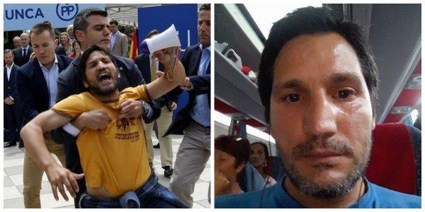 """Twitter despide 'con cariño' al okupa rumano de Podemos: """"La fuga de cerebros es una tragedia"""""""