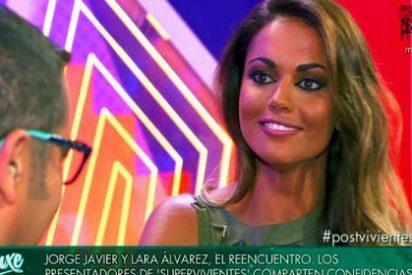 "Lara Álvarez se encara con Jorge Javier Vázquez: ""Me dijeron que no querías verme porque te doy mala suerte"""