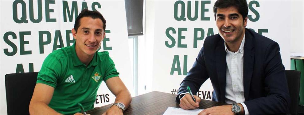 Las ofertas que rechazó Guardado para llegar al Betis