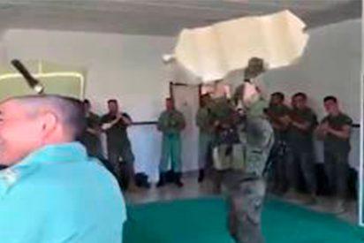 [VÍDEO] Así reduce la Legión Española a personas agresivas ¿Te suena de algo?