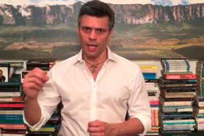 """[VIDEO] Leopoldo López advierte que Venezuela está ante una """"amenaza clara"""" de """"aniquilamiento"""" de la república"""