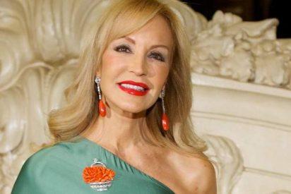 Carmen Lomana se mete en un 'jardín sin flores'