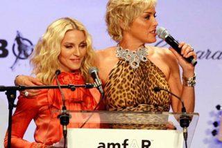 Sharon Stone deja a Madonna en ridículo, con elegancia, después de que la llamara 'mediocre'