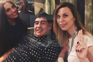 Acusan a Diego Maradona de meterle mano a una periodista en un hotel de Rusia