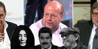 """Mofas ante la colección de monstruos del independentismo: """"Tienen al sicario lírico de Castro y a la tarada y farsante Yoko Ono"""""""