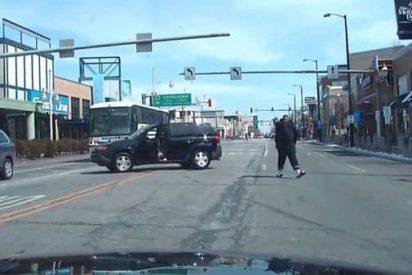 [VIDEO] Espectacular persecución en New Jersey a tiro limpio