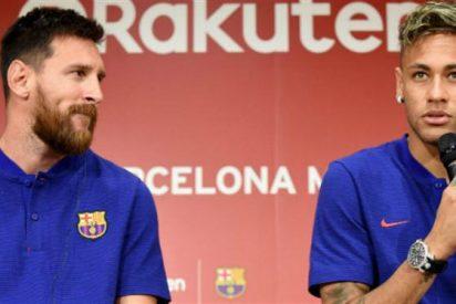 Messi se enfadó con Neymar por un motivo que no te imaginás