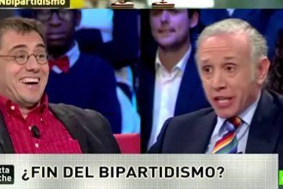 """Eduardo Inda se cepilla a Monedero por alegrarse de la muerte de Blesa: """"Su actitud fue repugnante"""""""