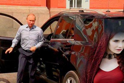 [VÍDEO] ¿Quién es la misteriosa mujer de rojo a la que Putin hace de chófer?
