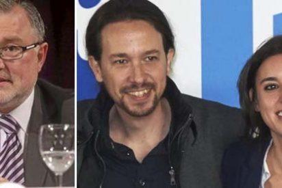 La certera pregunta de John Müller sobre el abuelo de Pablo Iglesias que cae como un jarro de agua fría sobre los podemitas que celebraban su 'victoria' sobre Tertsch