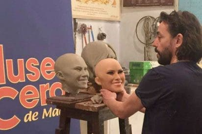 """La nueva figura de Meliana Trump del Museo de Cera de Madrid """"da miedo"""""""