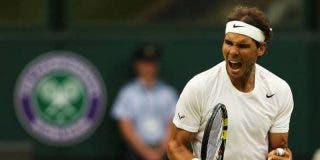 Rafa Nadal arranca en Wimbledon decidido a triunfar en territorio Federer