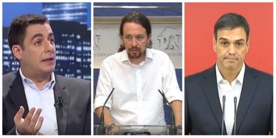 """Antonio Naranjo deja secos a Sánchez e Iglesias por pedir la dimisión de Rajoy: """"Se dedicaron a decir pavadas"""""""