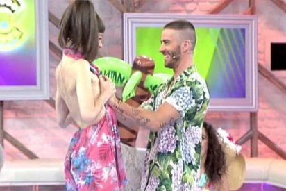 [VÍDEO] Pelayo toca las tetas a Natalia Ferviú