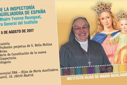 La Provincia única de las Salesianas en España se constituirá el 5 de agosto