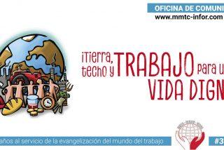 """""""Tierra, Techo y Trabajo para una vida digna"""", a debate en el Movimiento Mundial de Trabajadores Cristianos"""