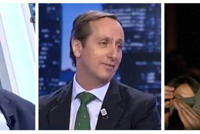 """Carlos Cuesta y García Olaya se cachondean del pesetero Guillermo Zapata: """"¡Lo que ha hecho es muy cutre!"""""""