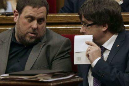 "Puigdemont a Junqueras: ""Móntalo tu, que a mí me da miedo"""