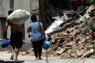 """""""Prueba del amor"""" del Papa por Lesbos: dona 50.000 euros a los perjudicados por el terremoto"""