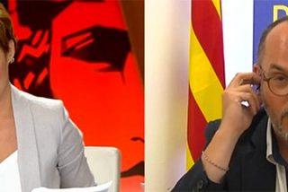 La tremenda cornada entre risotadas de Cristina Pardo que deja tambaleándose al independentista Campuzano