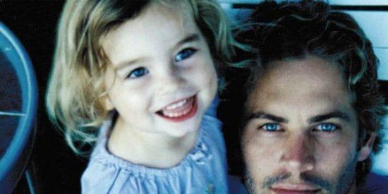 Las fotos de la bella hija del fallecido Paul Walker convertida en modelo