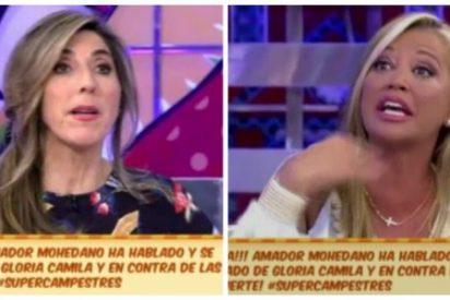 'Princesa destronada': las caras de asco de Belén Esteban cuando Paz Padilla intenta ser amable con ella