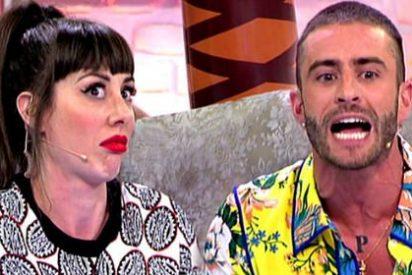 """Pelayo Díaz enloquece y machaca a su amiga Natalia Ferviú. """"¡Tú a mí no me amenazas!"""""""