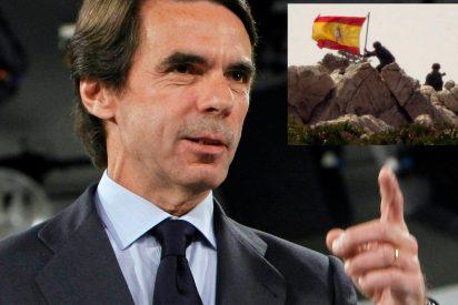 Aznar agradece al Ejército su labor en el 15 aniversario de la recuperación de Perejil