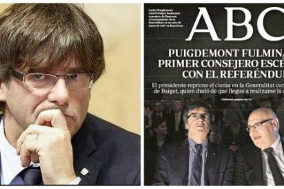 ¿Corea del Norte? No, Cataluña: Puigdemont fulmina a un consejero disidente