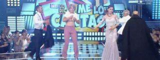 Vergonzoso estreno de 'Me lo dices o me lo cantas': Despelote de 'Esperanza Aguirre' y bronca de pacotilla