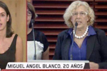 Rita Maestre, 'en bragas': niega rectificación en una tele mientras Carmena enmienda su afrenta a Miguel Ángel Blanco