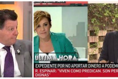 """Alfonso Rojo: """"Espinar se chulea de la memoria de Blanco y al día siguiente en laSexta y en TVE le premian entrevistándole"""""""