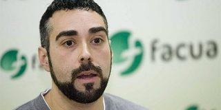 El podemita portavoz de Facua se lleva una ristra de palos por reírse en Twitter del suicidio de Blesa