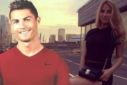 Cristiano Ronaldo se monta una cita secreta con una modelo rusa a espaldas de Georgina